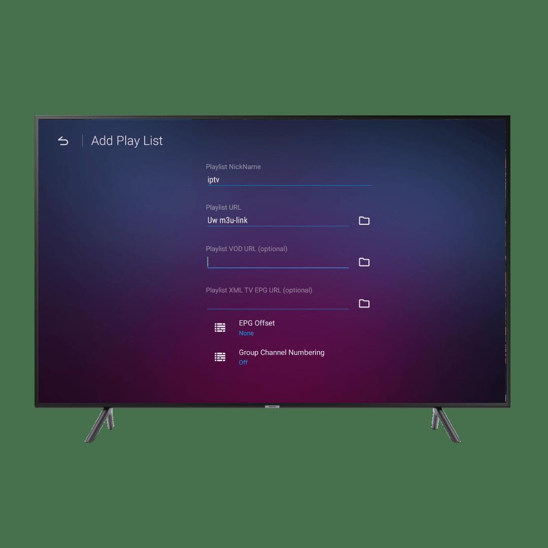 MyTV online 2 M3U