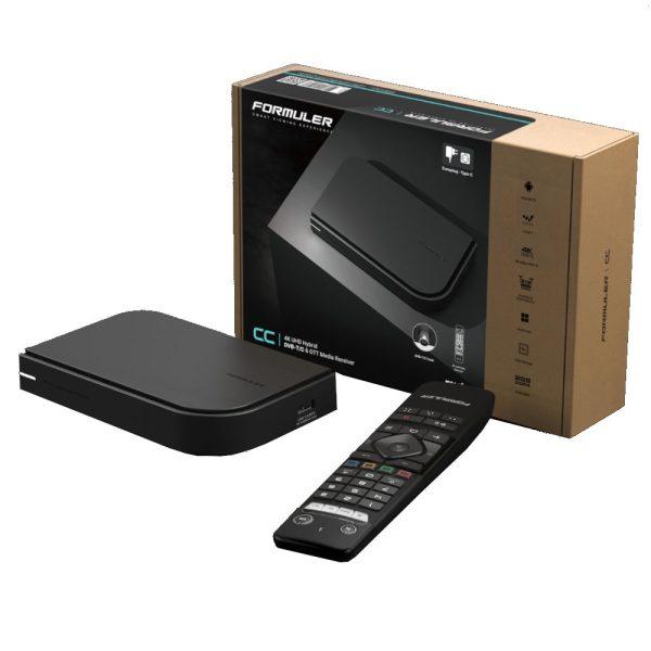 Formuler CC Android IPTV Box